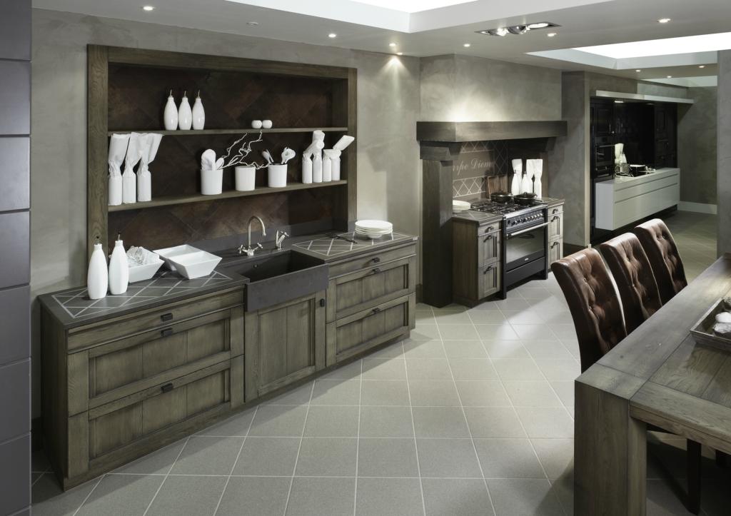 Design Keuken Showroom : Landelijke keuken styling keukens