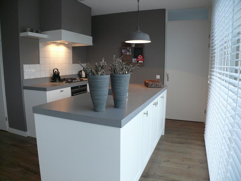 Familie wemeldinge zeeland eigentijdse keukens styling keukens - Eigentijdse keuken grijs ...